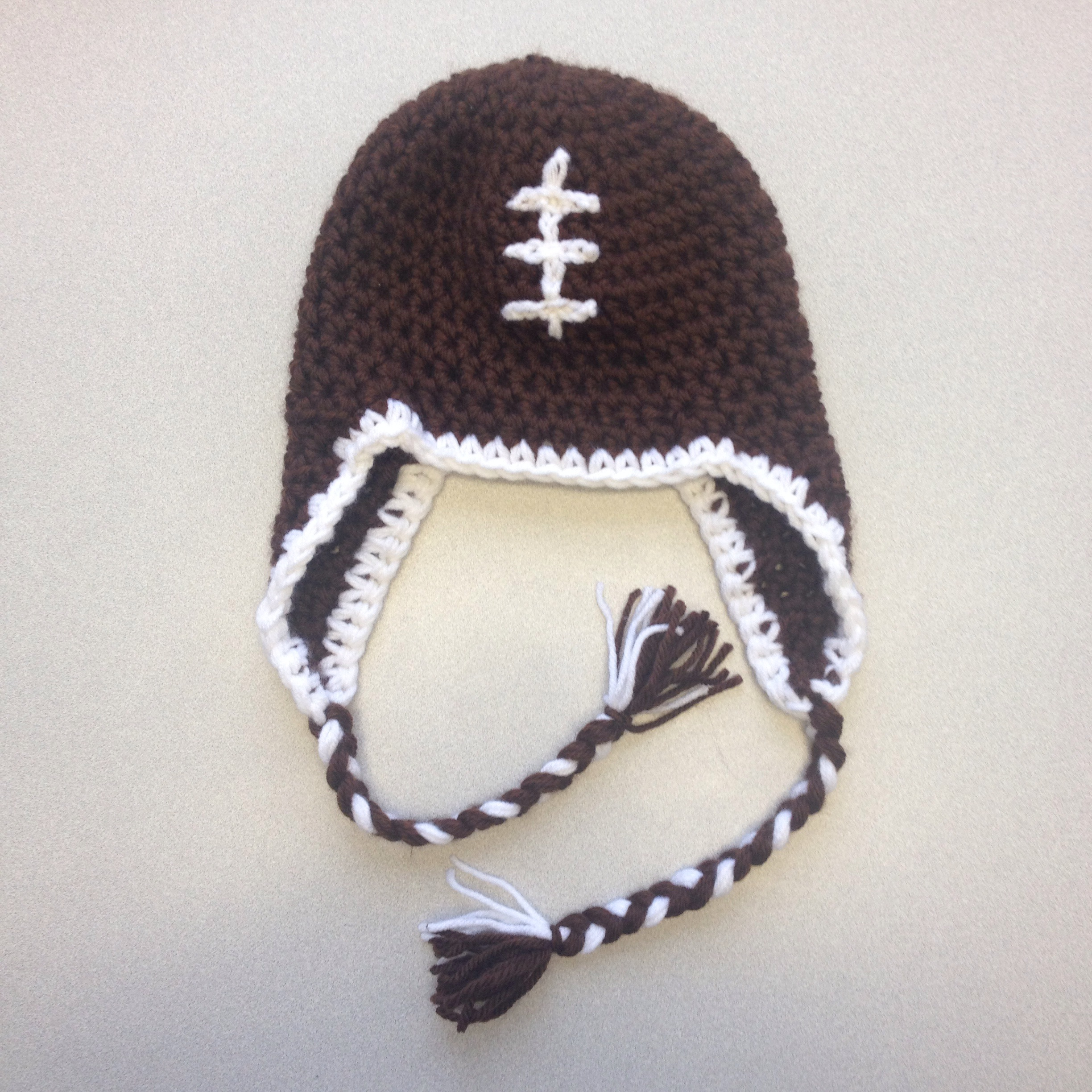 Football Beanie with Optional Earflaps