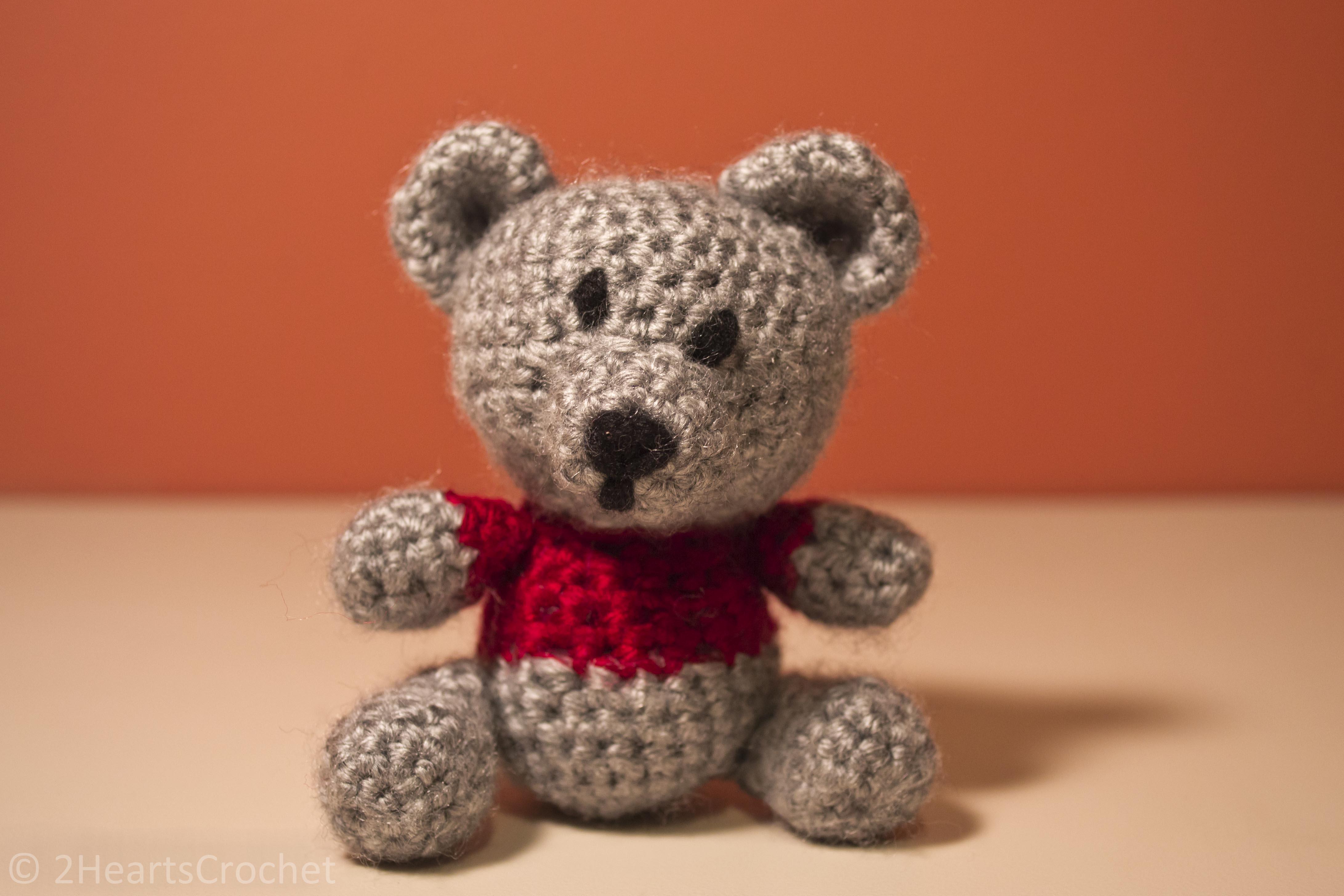 Amigurumi Teddy Bears : Pattern share sam the little teddy bear amigurumi