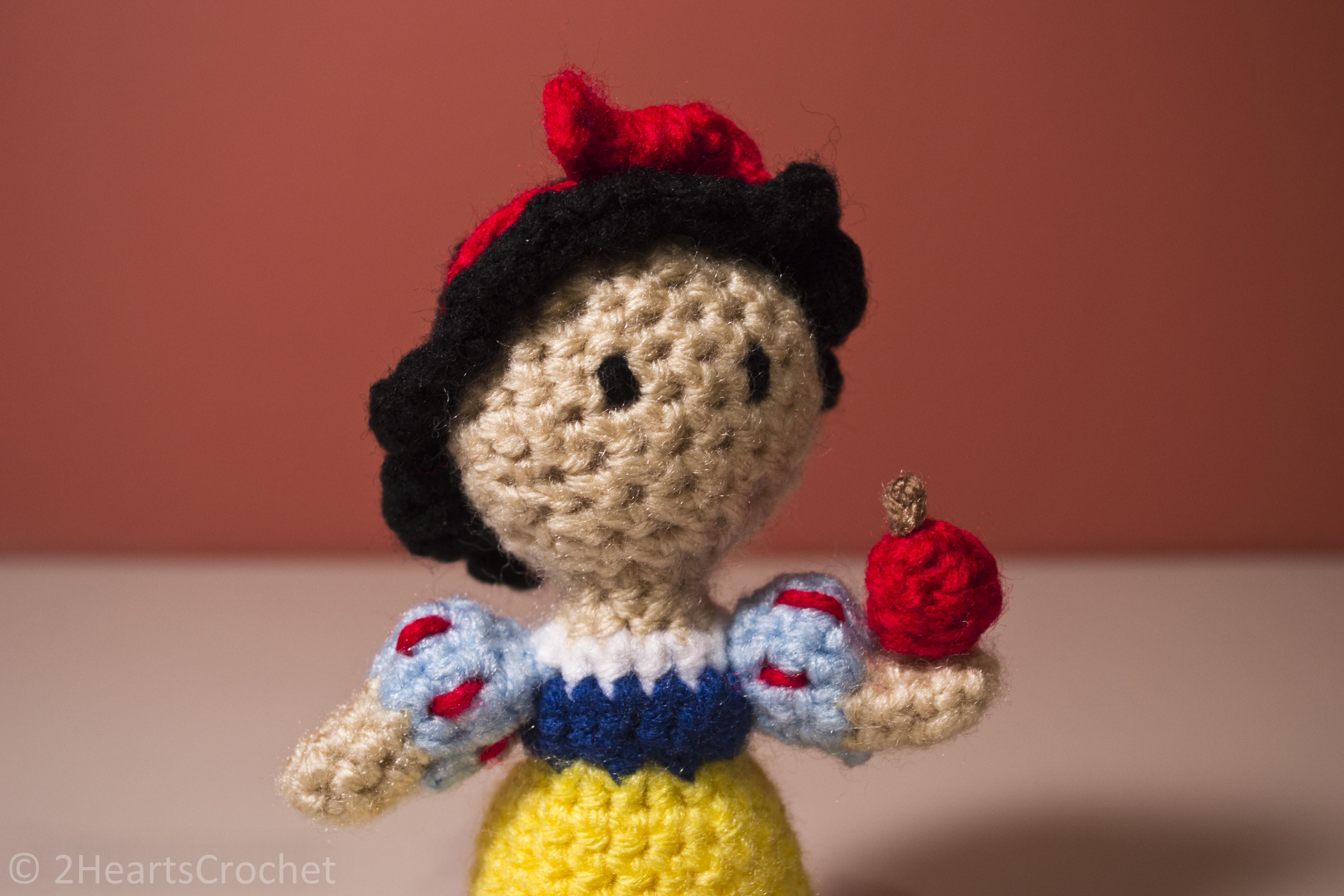 Snow White (Snow White and the Seven Dwarfs) Amigurumi ...