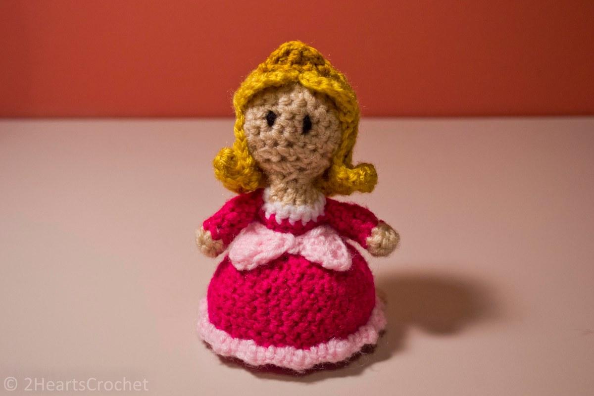 Free Amigurumi Princess Pattern : Princess Pattern: Princess Aurora (Sleeping Beauty ...