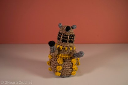 Another close-up of the dalek - I just love all of his details!