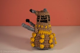 Close-up of the dalek
