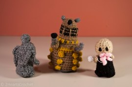 Monster time: a weeping angel, a dalek, and an ood!