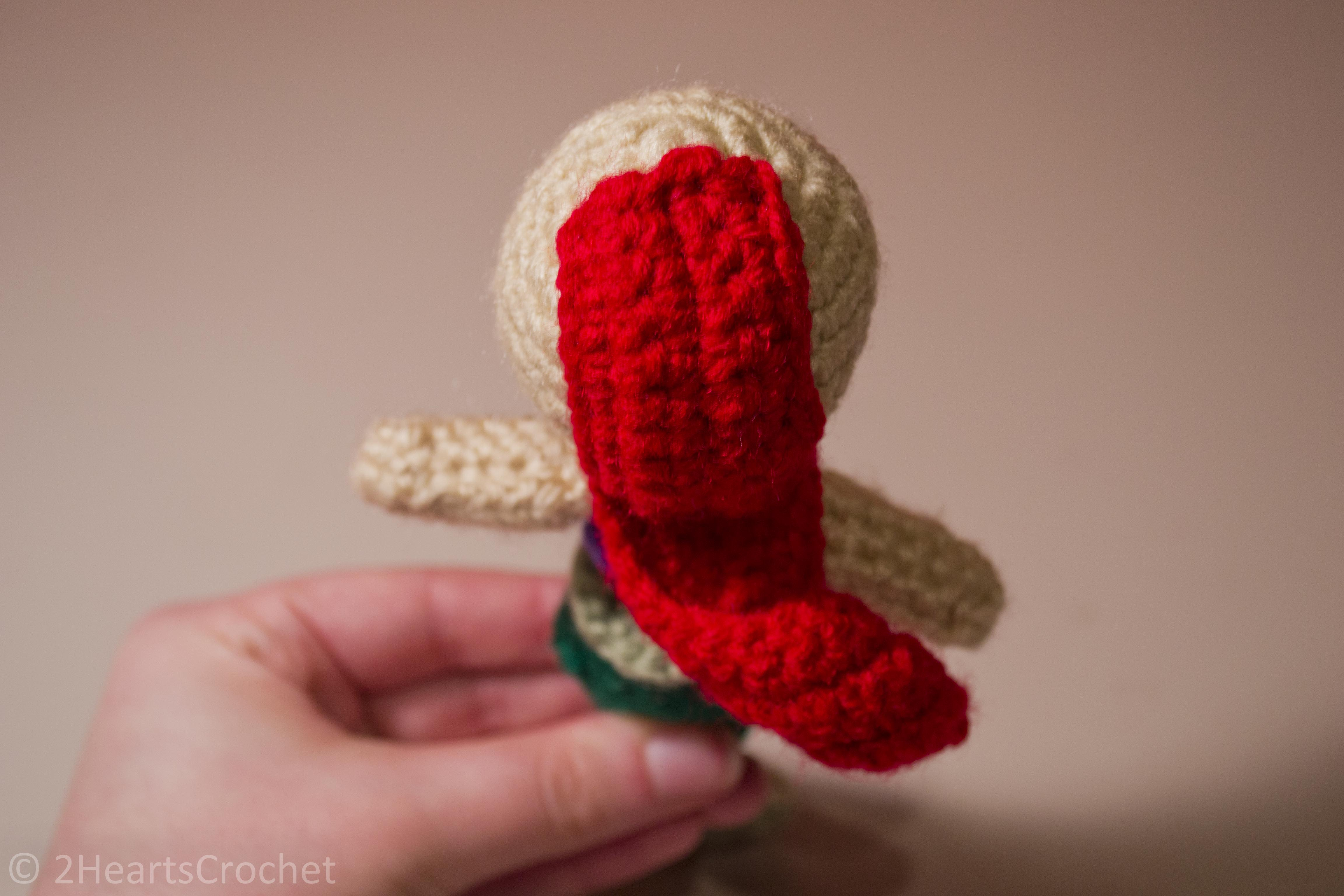 Amigurumi Doll Hair Tips - Two Hearts Crochet