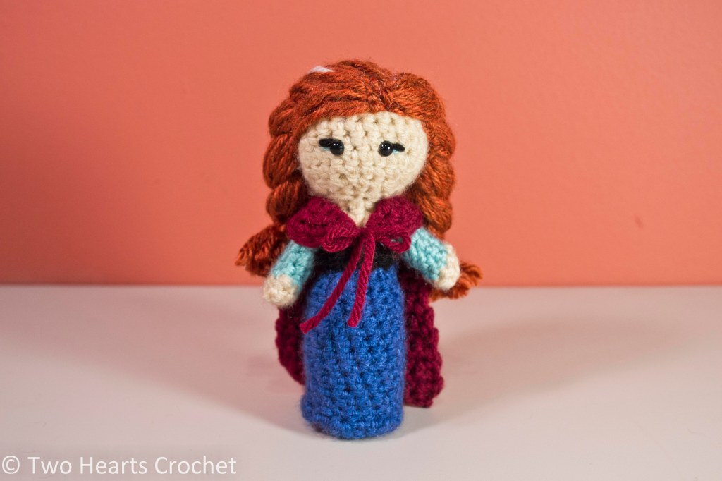 Anna Amigurumi Vol 1 : Princess Pattern: Anna (Frozen) Amigurumi Two Hearts Crochet