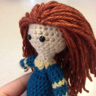 Tuesday Tip: More Amigurumi Doll Hair Two Hearts Crochet