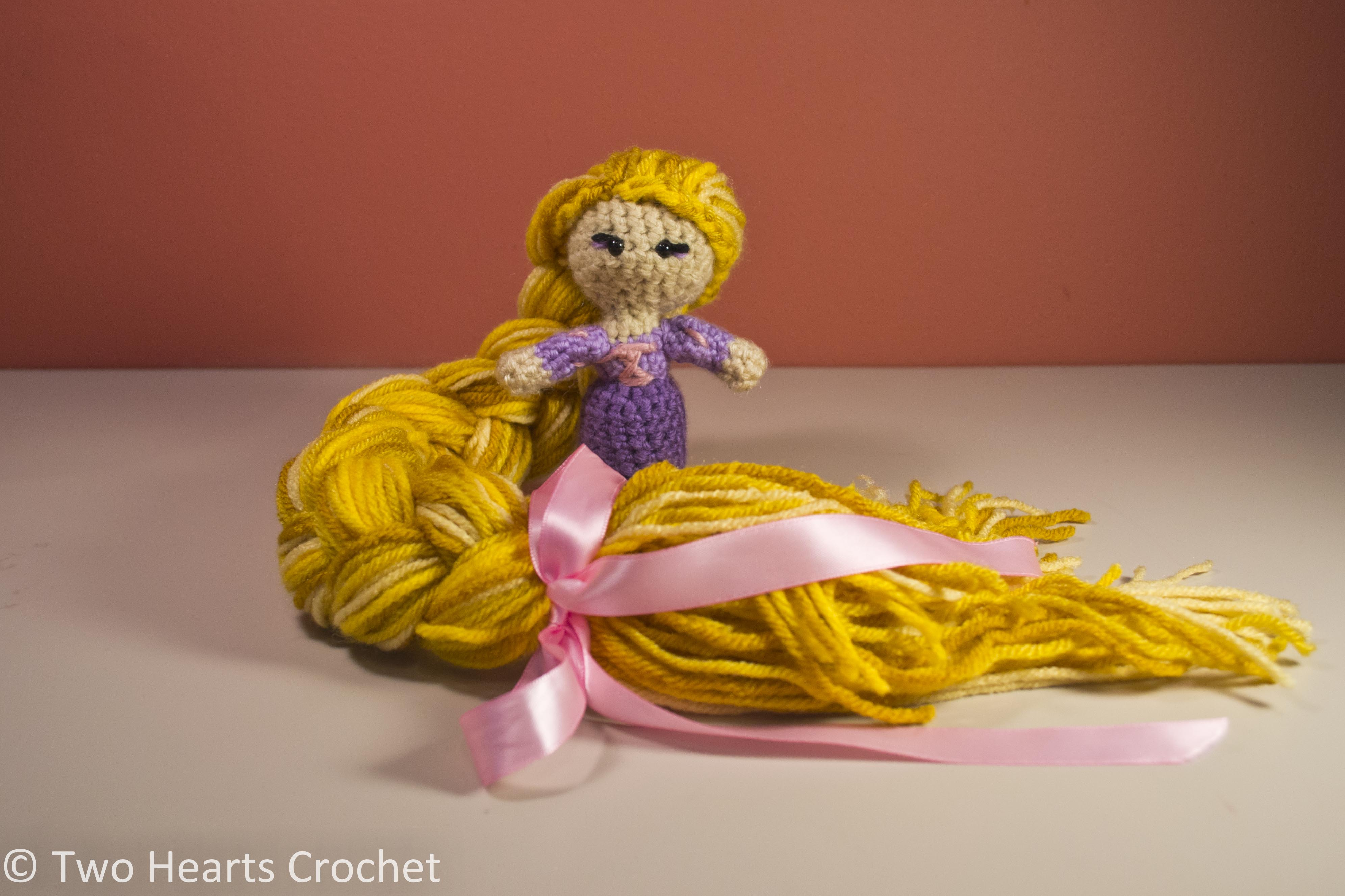 Amigurumi Star Wars Patrones Gratis : Princess Pattern: Rapunzel (Tangled) Amigurumi Two ...