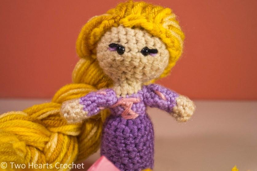 Princess Pattern: Rapunzel (Tangled) Amigurumi Two ...