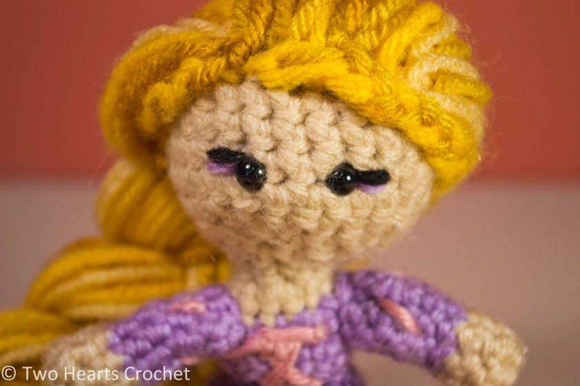 Amigurumi Yarn Ply : Princess Pattern: Rapunzel (Tangled) Amigurumi Two ...