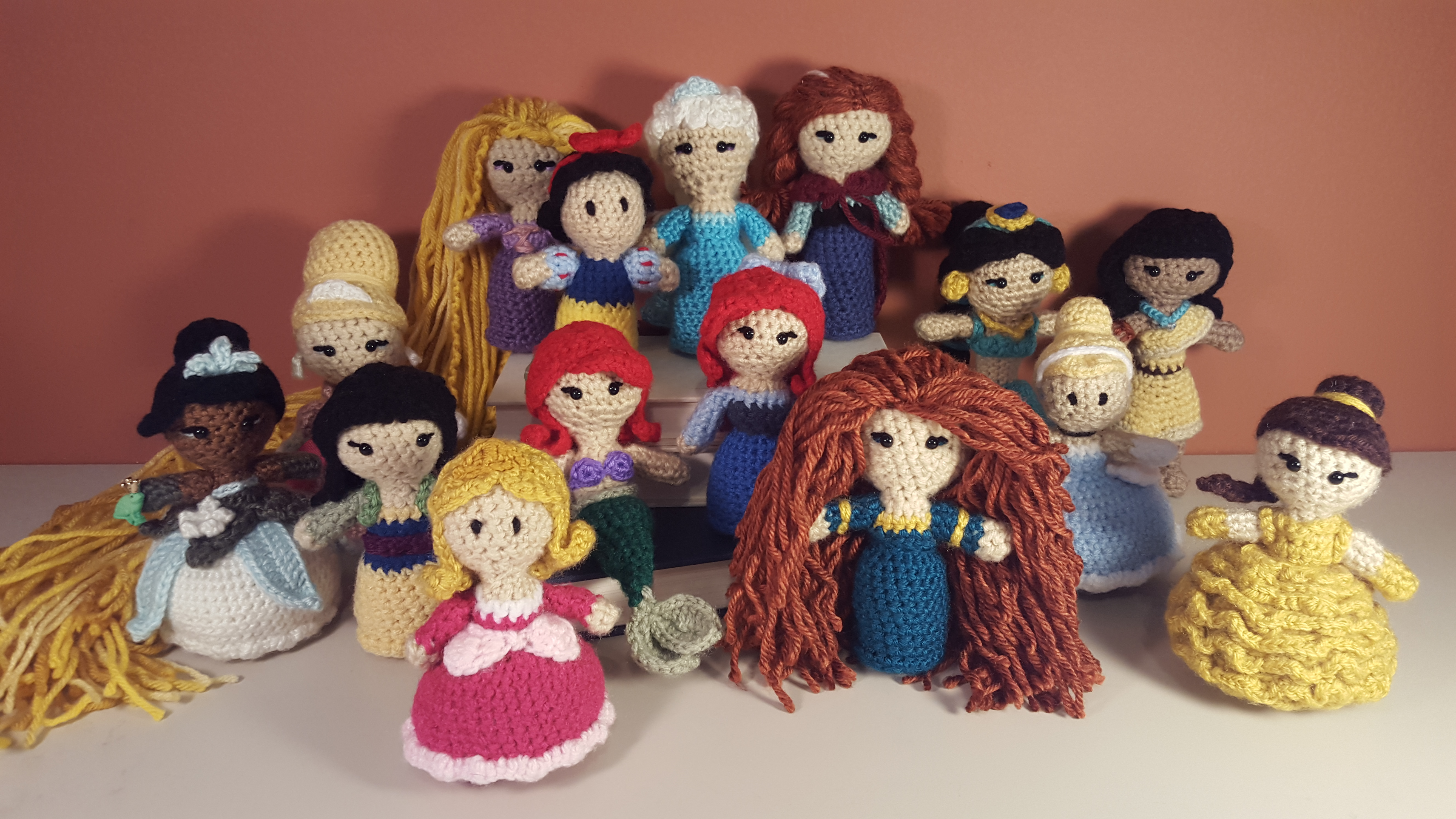 Amigurumi Disney Princess : Disney Two Hearts Crochet