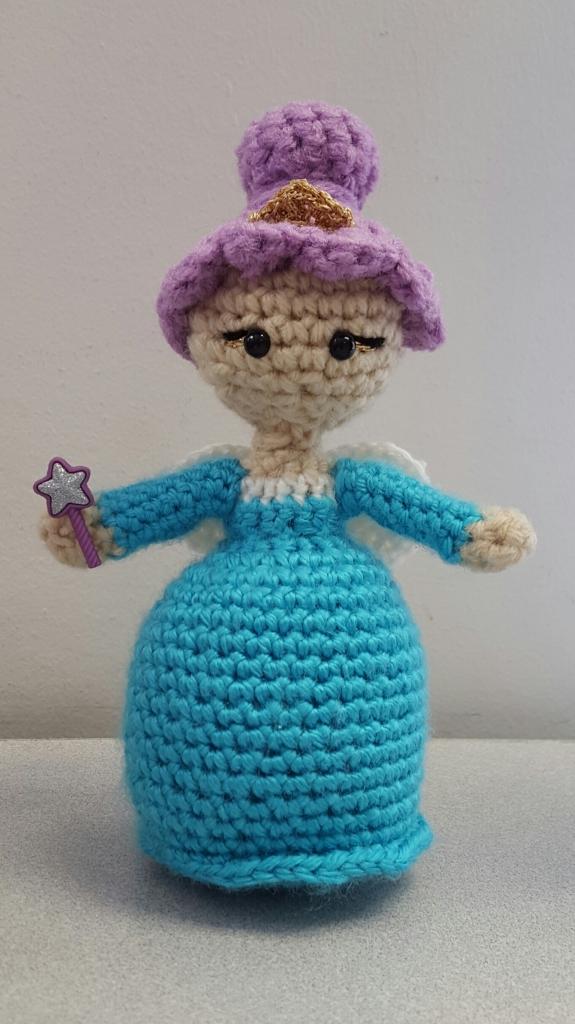 Fairy Princess Amigurumi Pattern Two Hearts Crochet