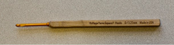 Kollage Square Crochet Hook, size I/5.5mm