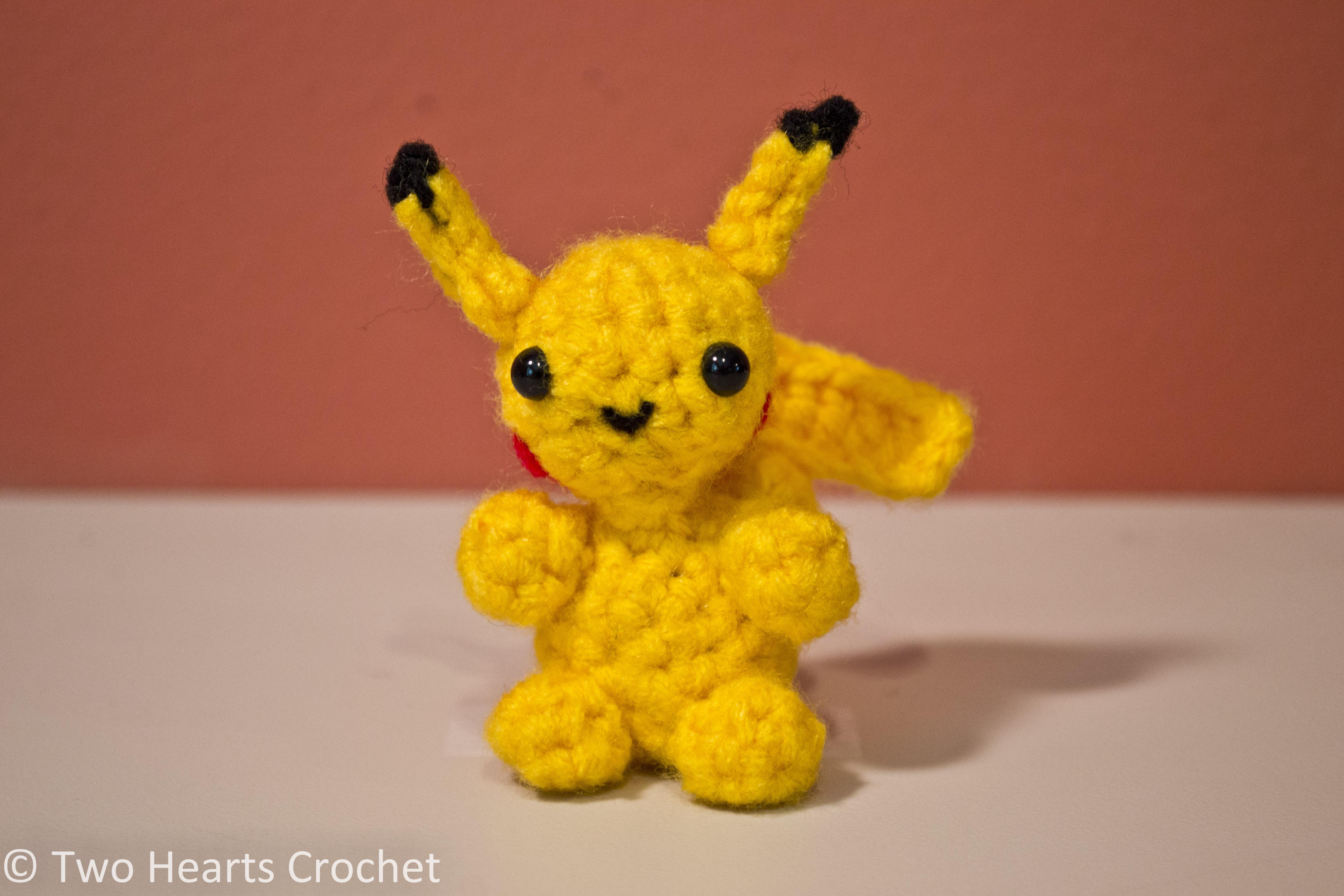 Mini Pokemon Series Pikachu Amigurumi Pattern