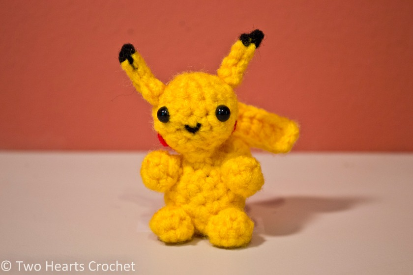 Mini Pokemon Series: Pikachu Amigurumi Pattern Two ...