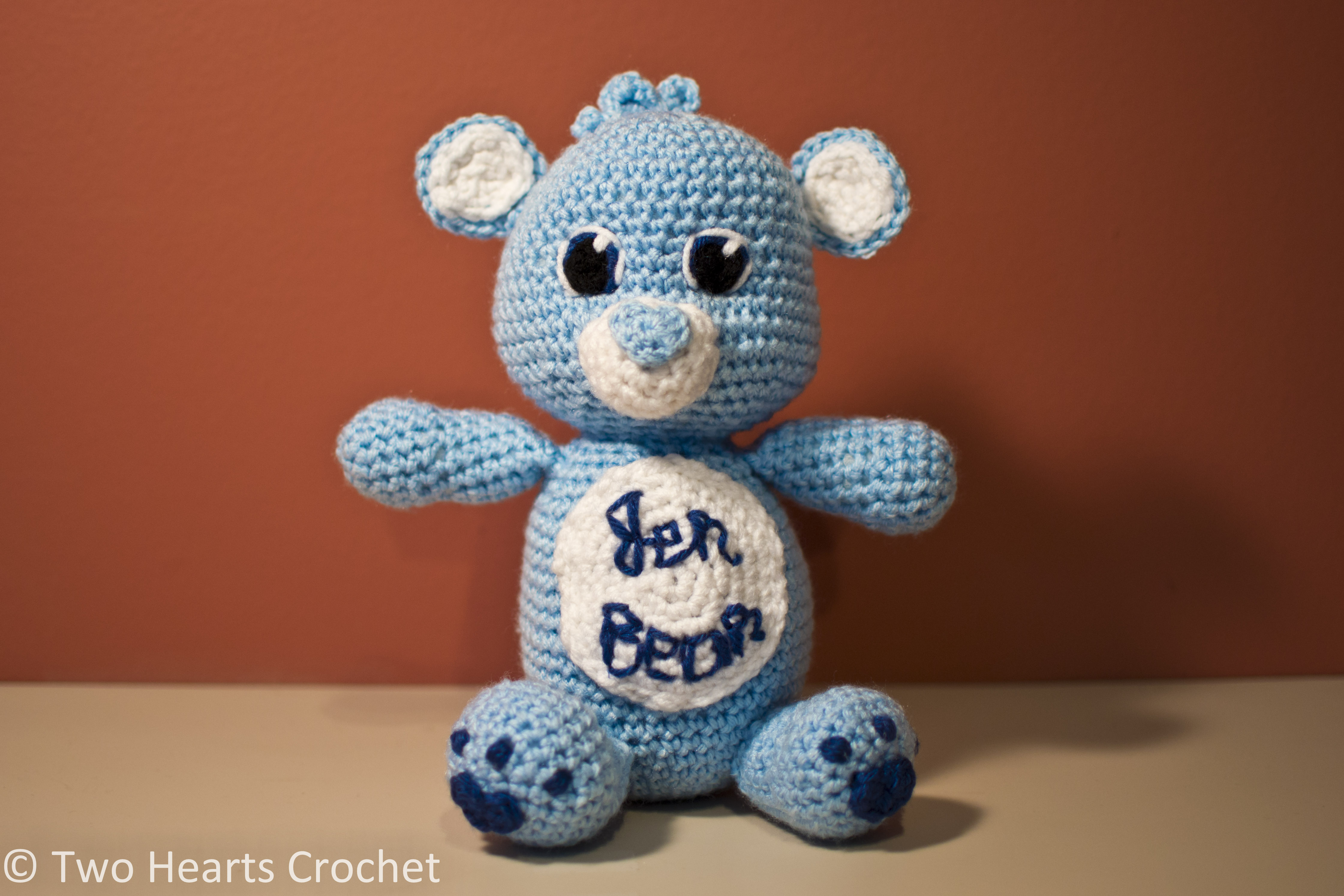 Meet jer bear the care bear jer bear is roughly 11 tall from his tail to his ears his feet sport cute little blue hearts just like the care bear he is modeled after and his nose is bankloansurffo Choice Image