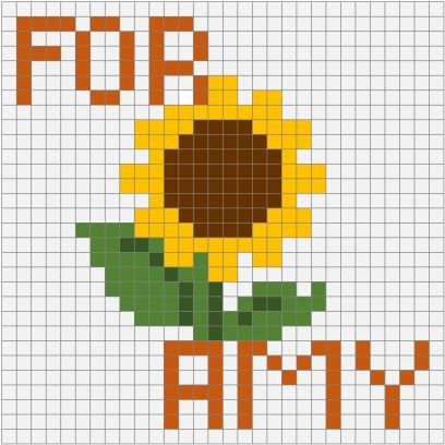 Sunflower For Amy