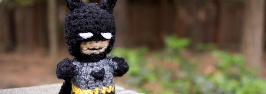 Mini Batman Amigurumi Pattern