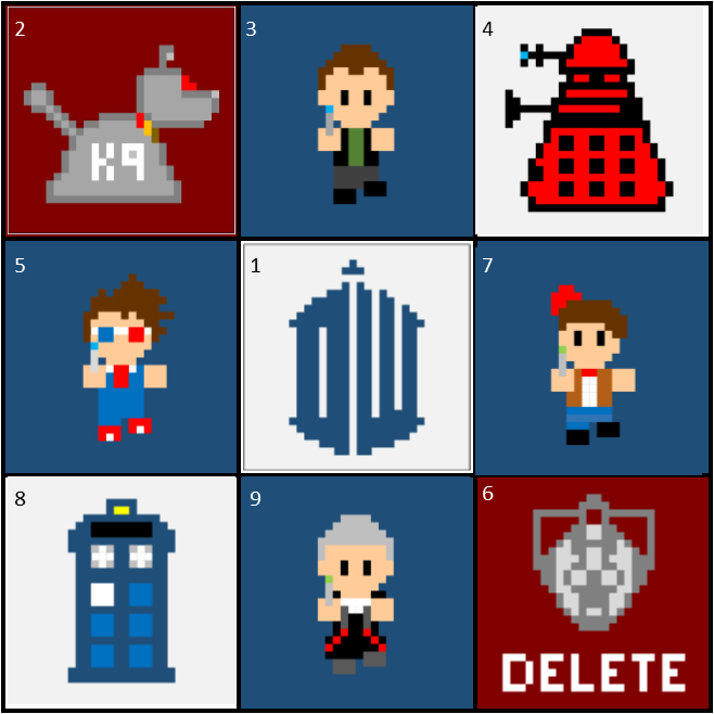 The Whovian Grapghan