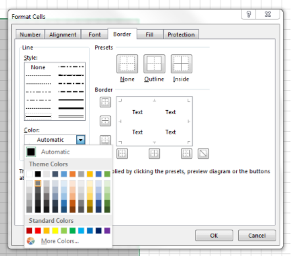 how to make a crochet graph in excel