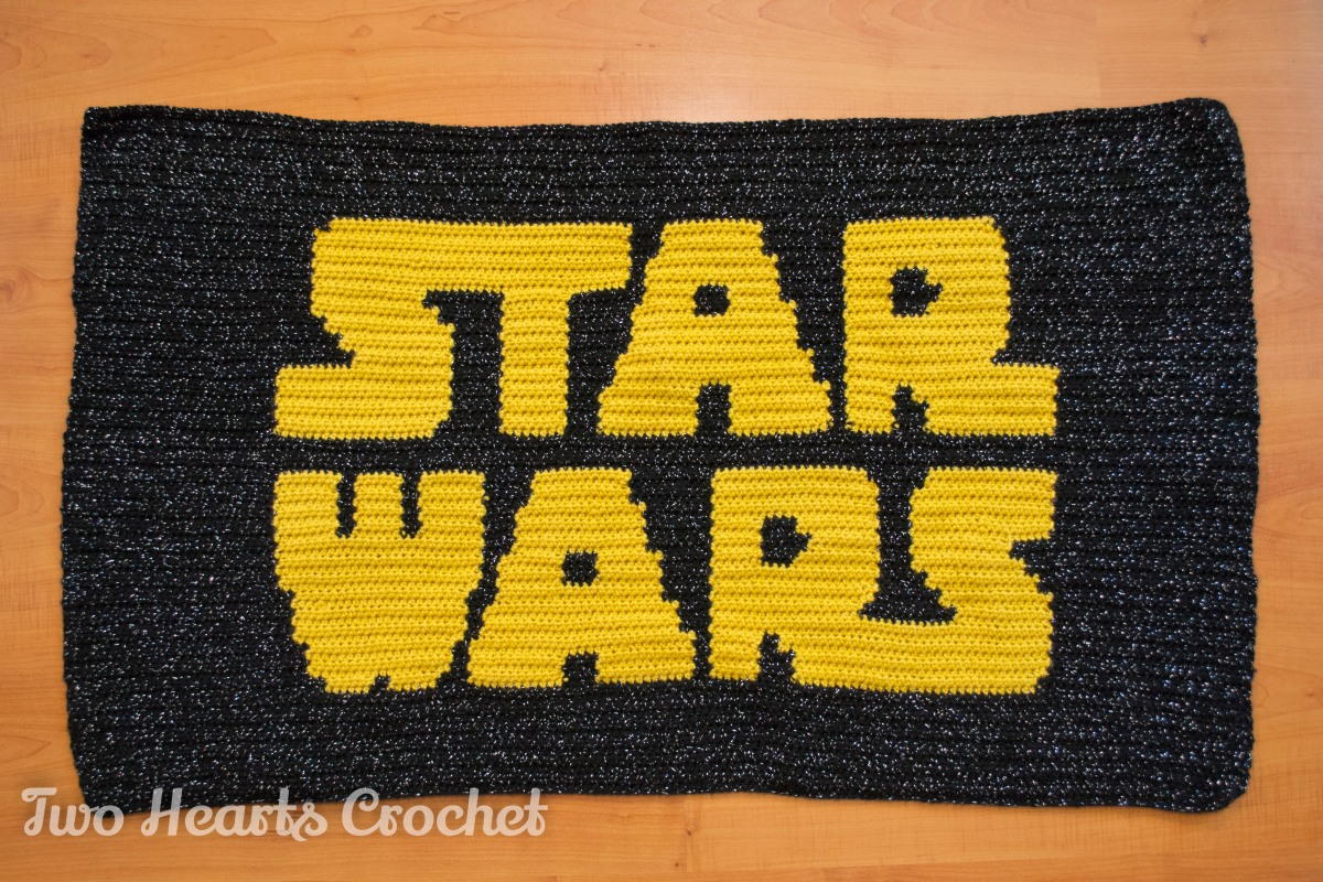 The Star Wars Grapghan Two Hearts Crochet