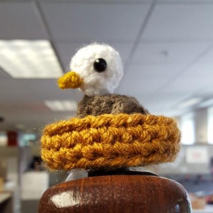 Amigurumi Gingerbread Man Free Pattern : Mini Eagle Amigurumi Pattern Two Hearts Crochet
