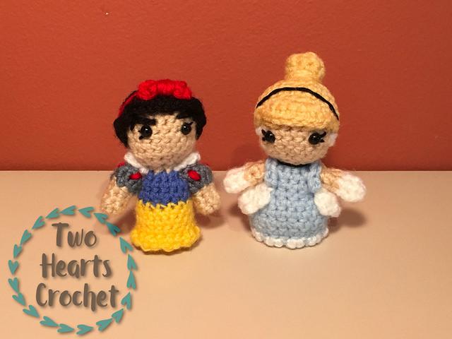 Progress Report: Mini Princess Amis ? Two Hearts Crochet