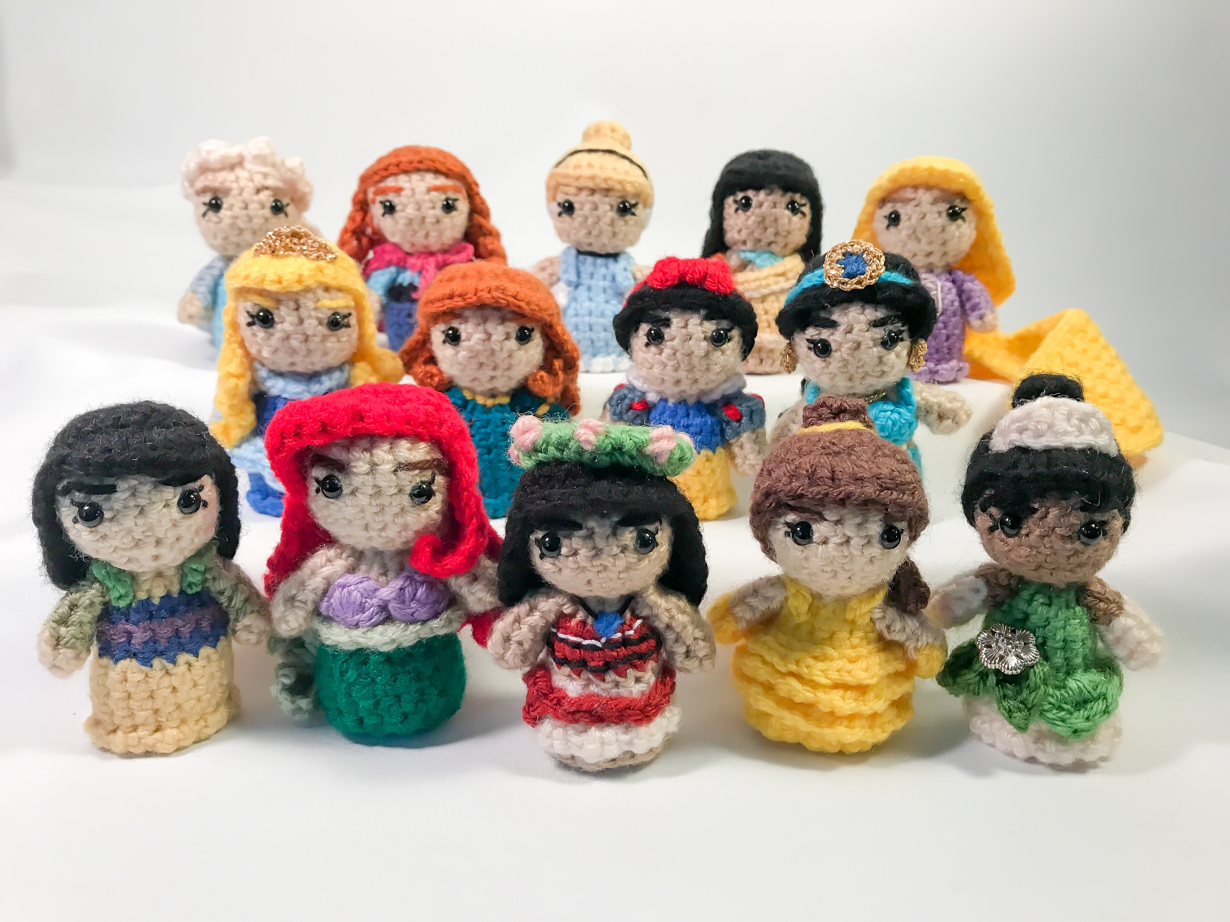 Amigurumi Frozen : List of synonyms and antonyms of the word: princess amigurumi