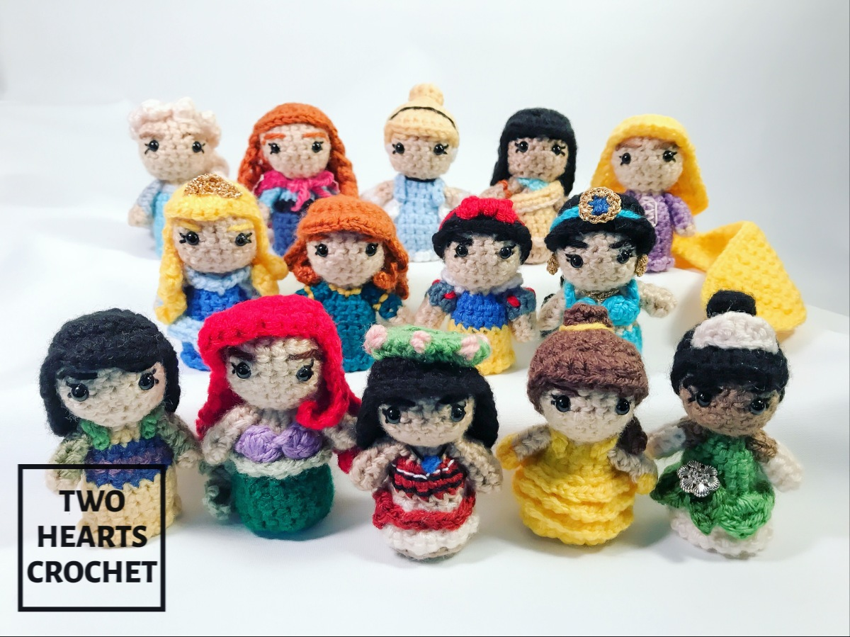 Mini Princess Amigurumi
