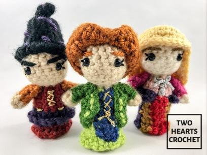 Crochet Hocus Pocus Sanderson Sisters