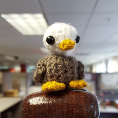 Mini Eagle Amigurumi Crochet Eagle 2