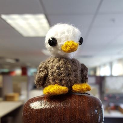 Mini Eagle Amigurumi Crochet Eagle 2