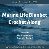 Marine Life Blanket CAL